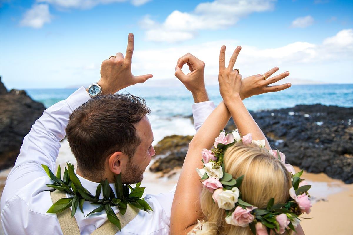 Ancient hawaiian weddings maui wedding planners just maui weddings your personal maui wedding coordinator junglespirit Images