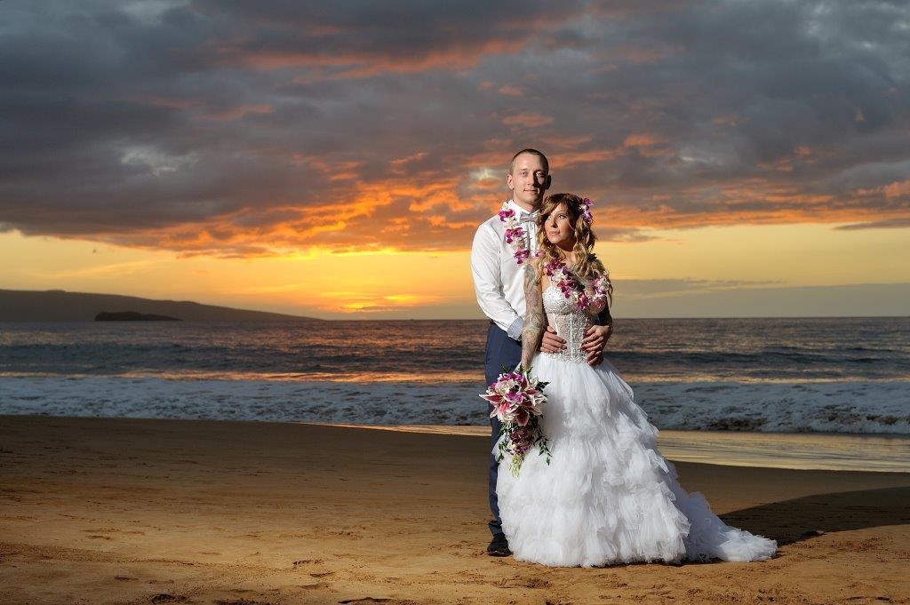 Jasmin Kevin S Wedding On Paipu Beach