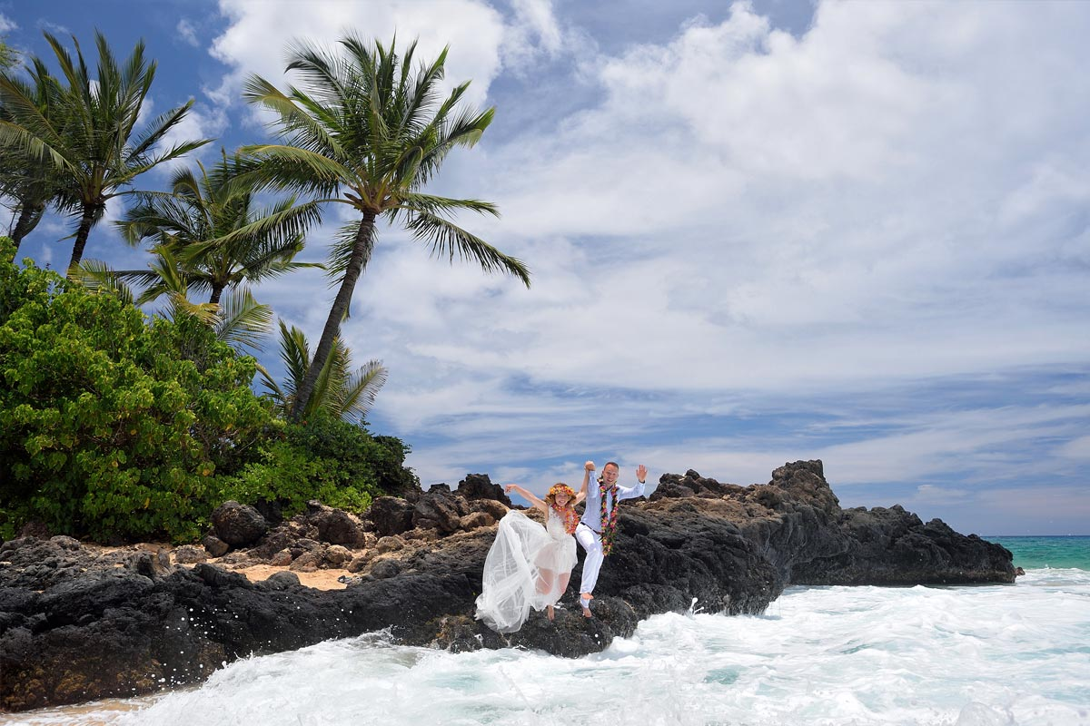 Ancient Hawaiian Weddings Maui Wedding